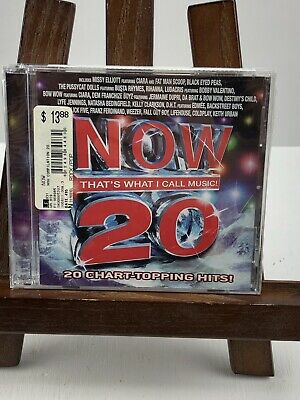 NOW That's What I Call Music 20 Chart Topping Hits Sealed /Case Cracked
