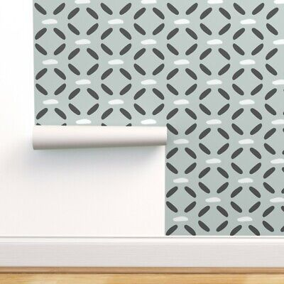 Removable Water-Activated Wallpaper Simple Fashion Retro Pattern Home Textiles