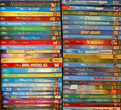 Disney & More Blu-ray Discs with combined shipping (Many include DVD)
