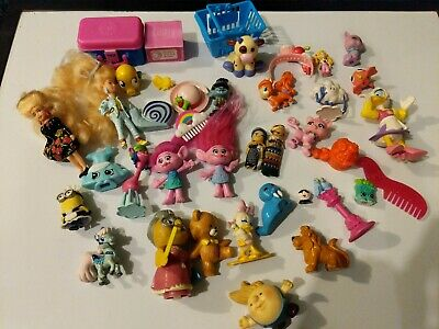 Lot of girls dolls toys figures and accessories Shopkins some VINTAGE Trolls