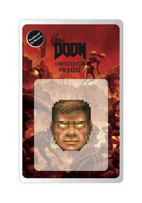Doom Pin Badge Face FaNaTtik Chiodini amp Spille