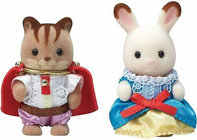 Sylvanian Families 35th Anniversary Baby Pair Set (Princess & Prince) Japan