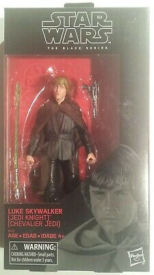 Star Wars The Black Series 6-inch Jedi Knight Luke Skywalker Exclusive 2019 New!