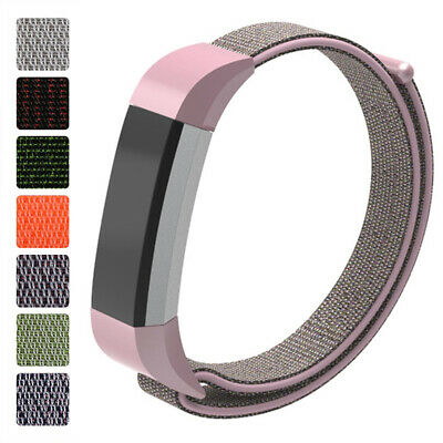 For Fitbit Alta/HR Straps Accessory Woven Nylon Wrist Band Bracelet Large Small