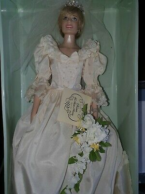 Princess Diana Franklin Mint Wedding Doll