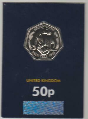2020 Dinosaur 50p Coin Iguanodon Official Royal Mint BU Issue 2