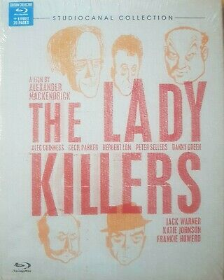 The Lady Killers Blu Ray Digibook + Livret 20 Pages  Neuf Sous Cellophane
