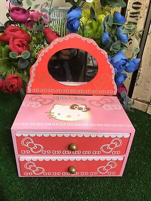 Clearance HELLO KITTY COMPACT MIRROR AND MINI JEWELLERY BOX
