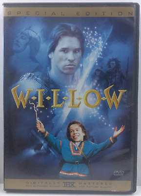 Willow (DVD, 2003, Special Edition) Val Kilmer George Lucas Ron Howard