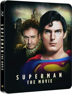 Superman The Movie Christopher Reeves Steelbook  Blu Ray   Neuf Sous Cellophane