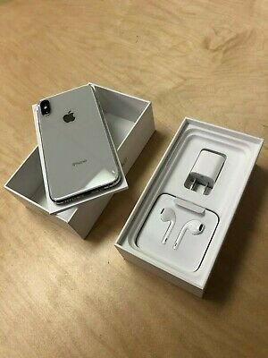 Apple iPhone XS - 64GB - Silver (Unlocked) New With 12-Month Apple Warranty!