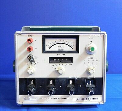Fluke 893A Differential Voltmeter Untested