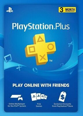 PSN PLUS 3 MESES PlayStation - PS Plus PS4 -WORLWIDE-[NO CODE]- LEER DESCRIPCI