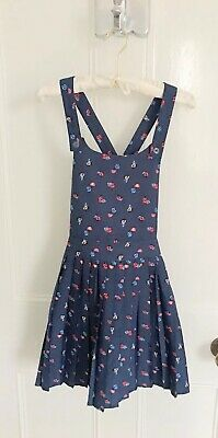 Girls Next Multi Ladybird Print Pinafore Dress Age 11 Brand New MADE IN INDIA