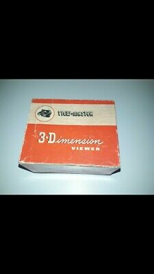 View-Master 3-Dimensions viewer anni 50