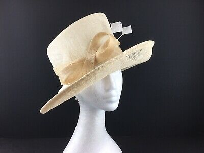 Marks & Spencers Natural Coloured Hat one Size  (209)