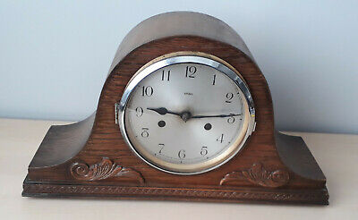 "Vintage Enfield ""Dupontic"" 14 Day Striking Mantel Clock for Repair (E/03) CC"