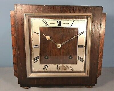 Antique Garrard Art Deco Mantel Clock, Not working