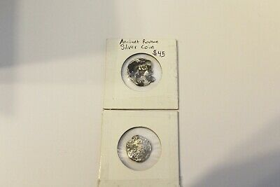 2 for 1 ancient roman silver coins