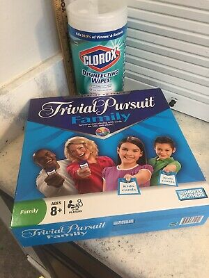 Trivial Pursuit Family Board Game 25th Anniversary Edition Good Complete Cond.