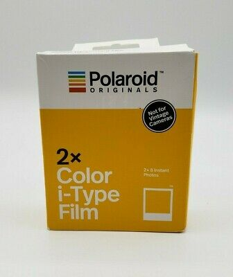 New (2 Pack) Polaroid Originals Color Film for i-Type- (Not for Vintage Cameras)