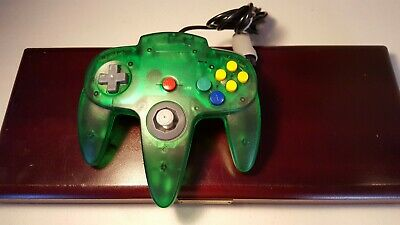 Nintendo 64 N64 Jungle Green Remote Video Game Joystick Controller Wired Non-Oem