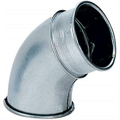 """Nordfab H5241 8"""" 60 Deg Industrial Dust Collection Elbow"""