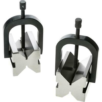 """Grizzly H5610 V-Block Pair w/ clamps 2"""""""
