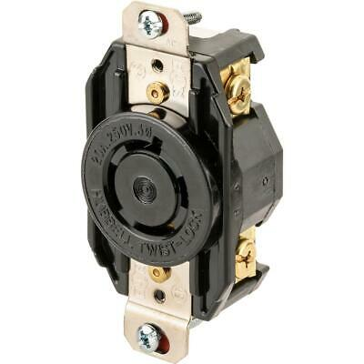 Hubbell T28421 20 Amp 250V NEMA L15-20 3 Phase Twist Lock Receptacle