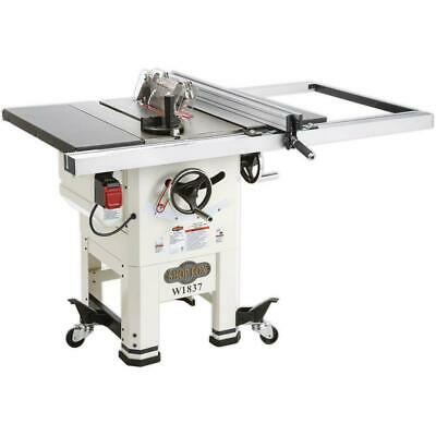 "Shop Fox W1837 10"" 2 HP Open Stand Hybrid Table Saw"