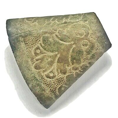 RARE 800-1000 AD Authentic Norse Viking Jewelry Fragment Artifact Brass Decor