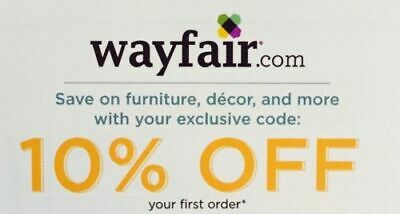 10% Off Wayfair Coupon! First Time User Offer Expires 04/30/2020