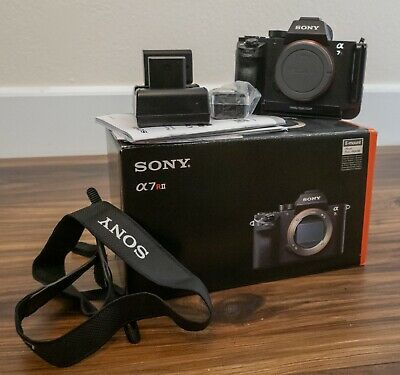 Sony AILCE7RM2BWMBDL Alpha A7RII Mirrorless Digital Camera Body) with...