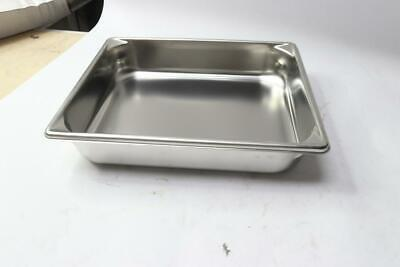 Qty 6 - Vollrath 30222 Stainless Steel 4.3 Qt Half Size Pan