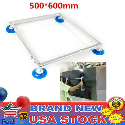 500*600mm LCD TV Screen Vacuum Chuck Double Sucker Handle Tools Fast Ship