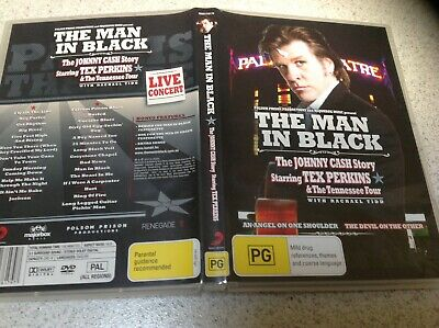 The Man In Black The Johnny Cash Story Starring Tex Perkins Live Dvd
