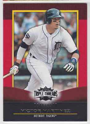 2011 Topps Triple Threads Victor Martinez 840/1500 Detroit Tigers #20 Parallel