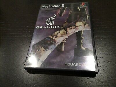 Grandia III (Sony PlayStation 2, 2006) - Game disc + case, no manual, fast ship
