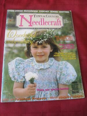Town & Country Needlecraft Issue 6, Smocking, Crochet, Embroidery & More