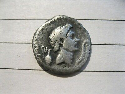 ROMAN silver denarius  Pompey the Great very rare