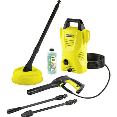 Karcher K2 Compact High Pressure Washer 1400W 110 Bar Pressure With 4m Hose