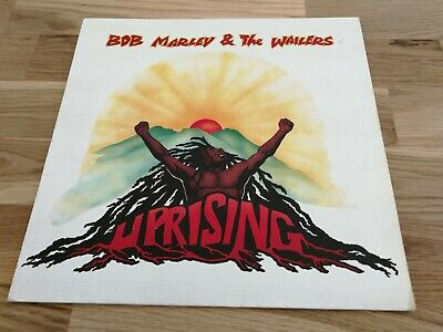 Bob Marley & The Wailers -  Uprising / 80 Lp / Ois / Textured Cover