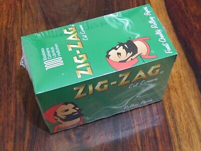 Zig-Zag Rolling Papers - Green, Pack of 100