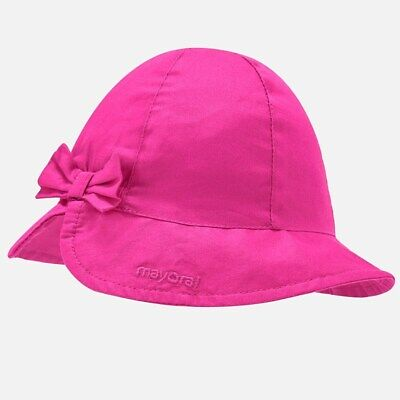 New Mayoral Baby Girl hat with bow, Age 6 months (10744)