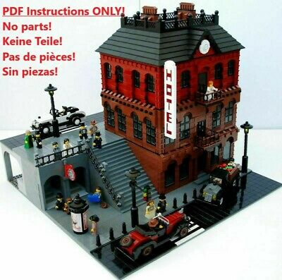 Hotel LEGO Building Instructions ONLY!! 10182 10185 10190 10197 10211 10218