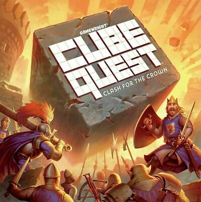 Cube Quest: Clash for The Crown Board Game - Gamewright - New with Damaged Box