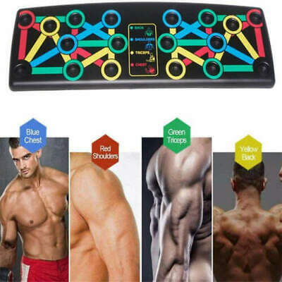 14  in 1 Push-up Board Stand Fitness Workout Gym Chest Muscle Training Exercise