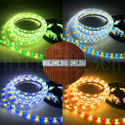 Brightest 24V Epistar 5050 RGBW RGBWW LED Strip Light 5M 600LEDs Double Row