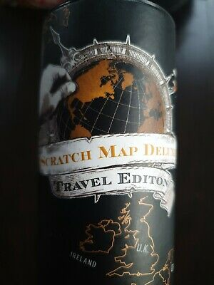 Scratch Map Deluxe Travel Edition, great present or gift. Gap year