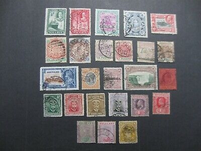 British Africa selection of 25 good clean used stamps QV to KG5 - Good value